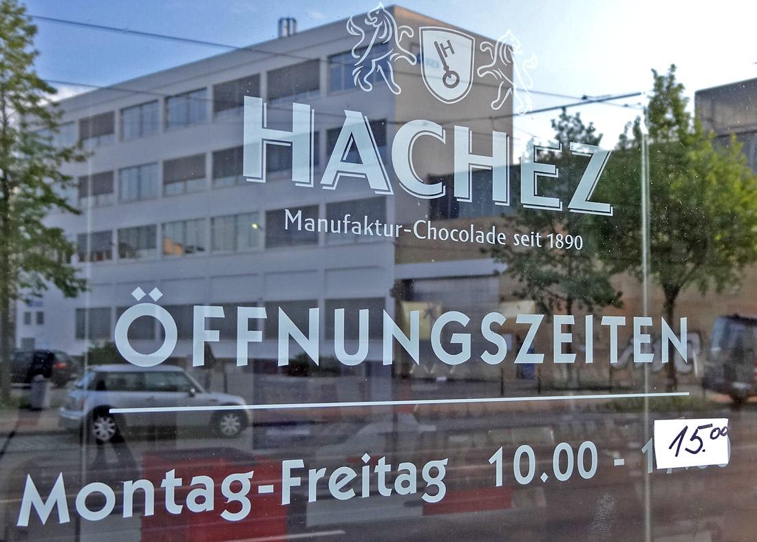 Hachez Manufaktur-Shop in der Neustadt Bremen