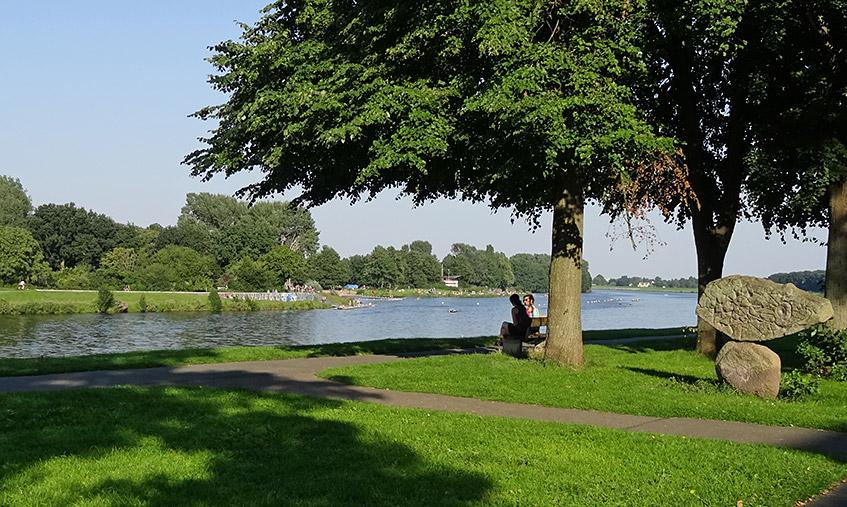 Der Werdersee - Erholung pur