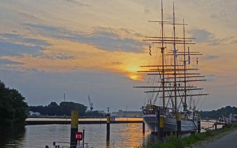 Schulschiff Deutschland im Bremer Norden