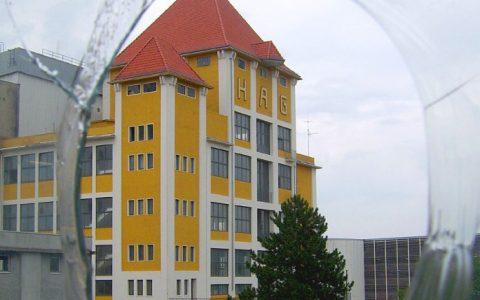 Kaffee Hag-Gebäude in der Überseestadt Bremen