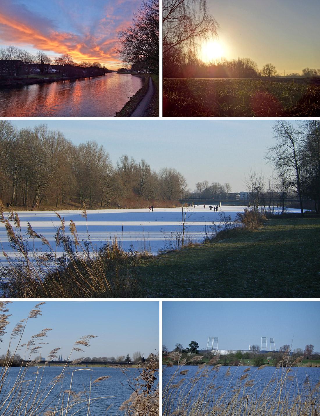 Winter am Werdersee - Ruhe genießen