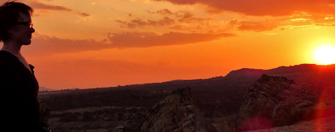 Traumhafte Sonnenuntergänge im Isalo Nationalpark