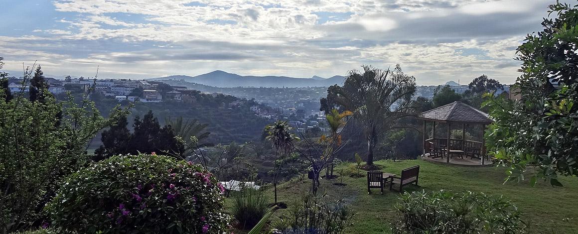 Blick auf Fianarantsoa