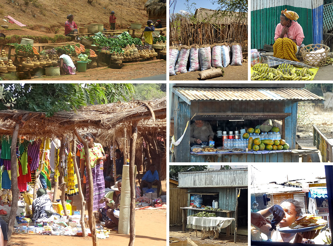 Der Handel in Madagaskar ist in Frauenhand