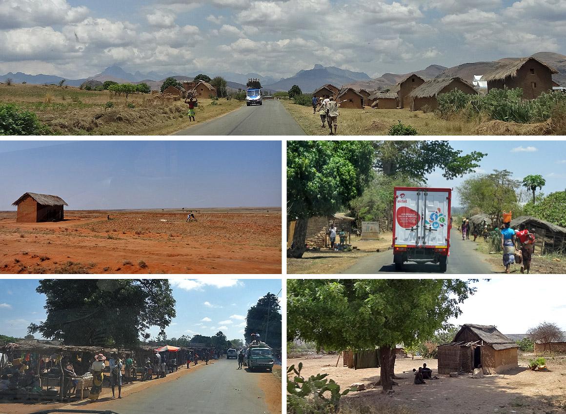 Der Süden - zwischen Fianarantsoa und Isalo