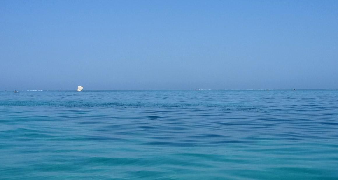 Endlich, das Meer ...