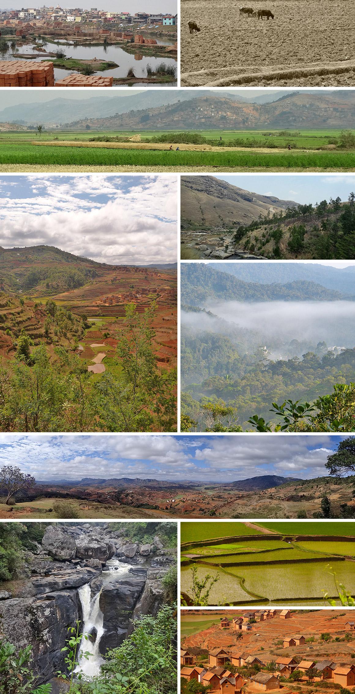 Von Antanarivo bis Fianarantsou: Üppige Landschaft und viele Serpentinen