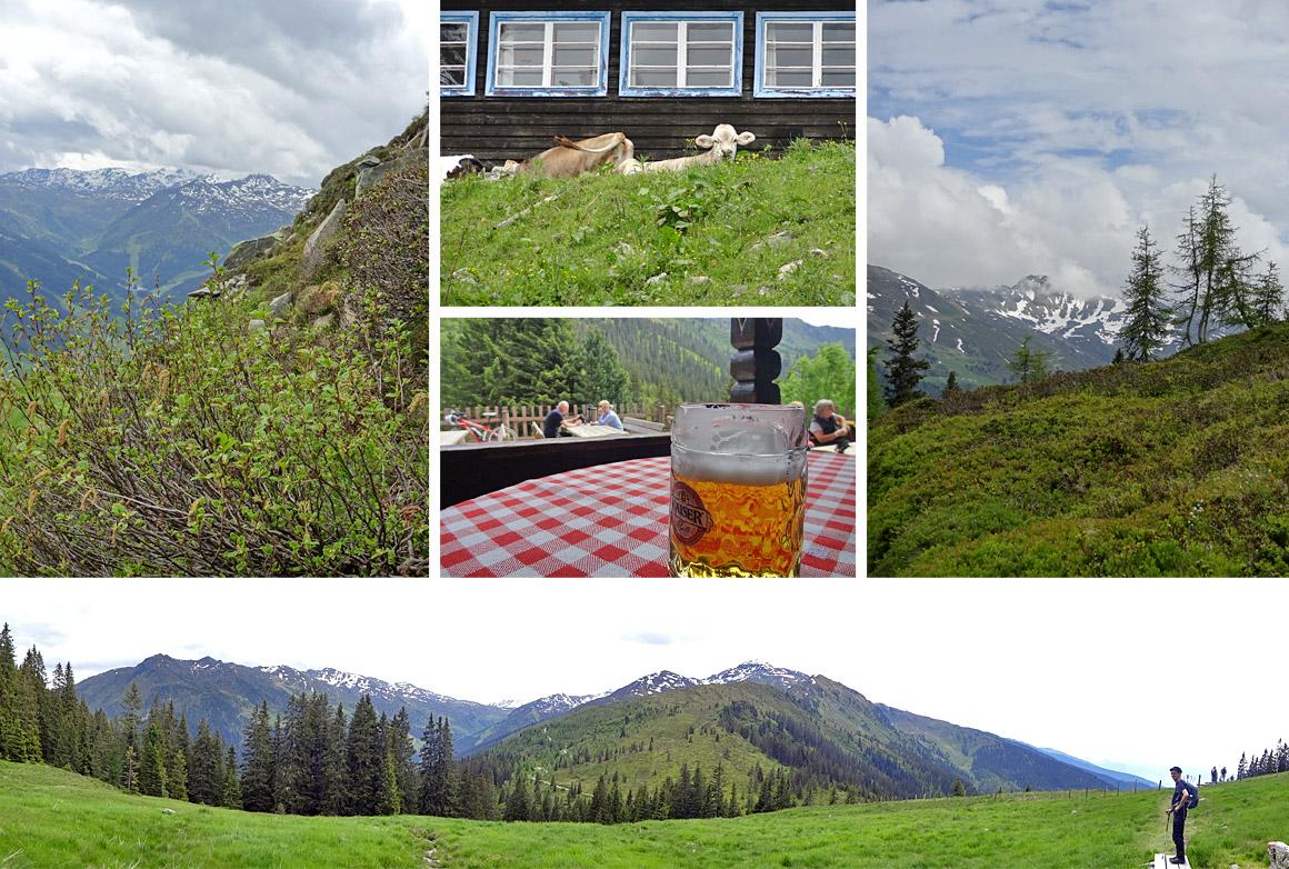 Auf dem Weg nach Mayrhofen - mit kleinem Umweg über die Hütte