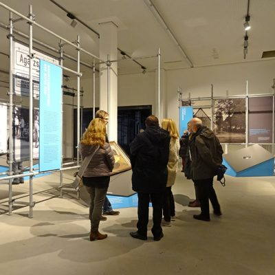 Ausstellungsbereich im Bunker