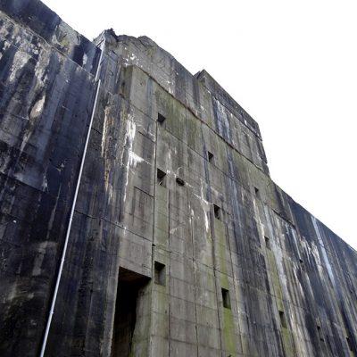 Der riesige Bunker Valentin - ein Koloss
