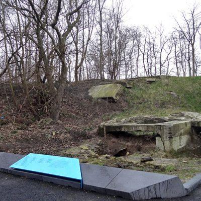 Außenbereich des Bunker Valentin