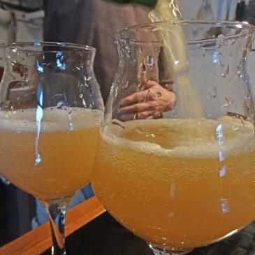 Unser erstes Cider namens Barnaby