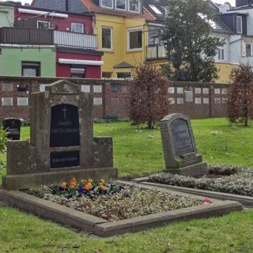 Fisch-Lucie ruht auf dem Friedhof Buntentor