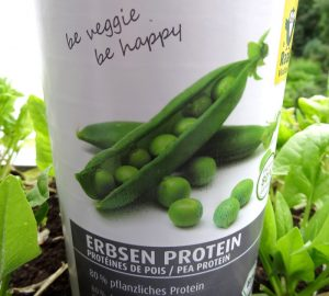 Erbsen-Protein - pflanzliches Pulver