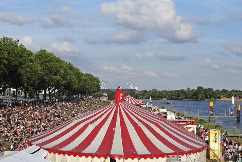 Blick Richtung Weser-Stadion