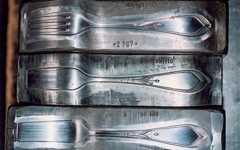 Prägewerkzeug für Gabeln, Foto: Koch & Bergfeld