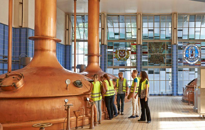 Sudhaus in der Brauerei Beck & Co, Foto: Michael Ihle / Anheuser-Busch InBev