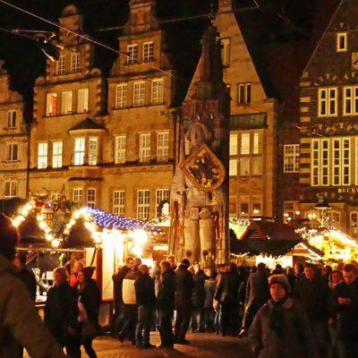Der weihnachtliche Marktplatz