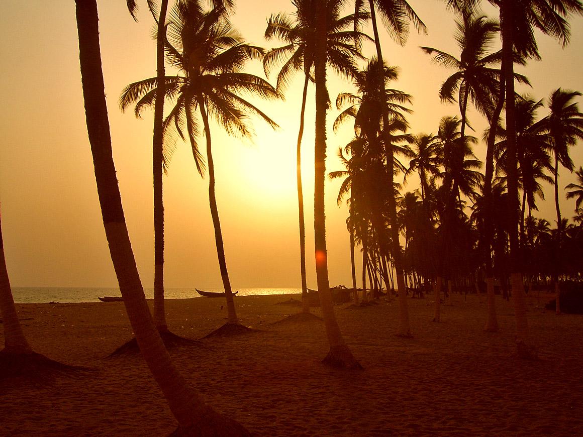 Am Schluss ein wenig träumen - vom Strand in Afrika