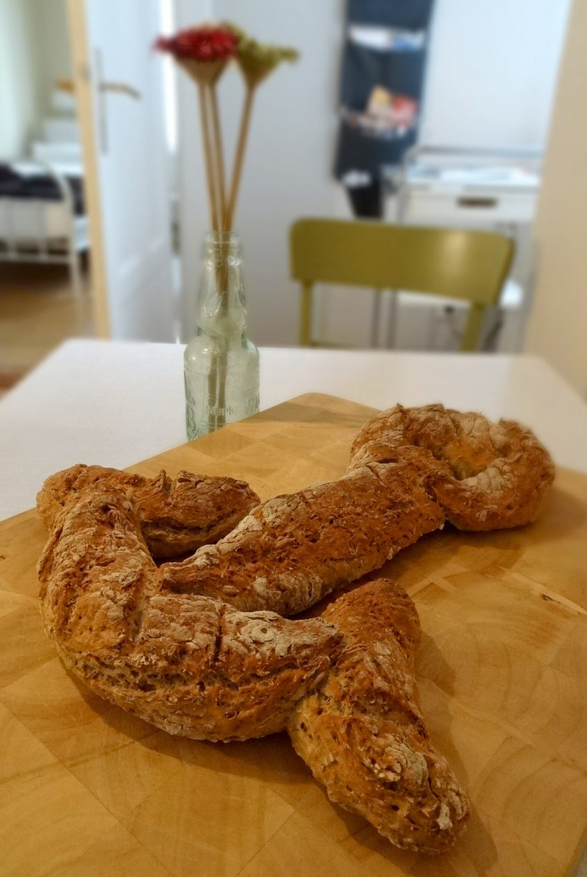Der Treber von Ale Nr. 2 im leckeren Anker-Brot