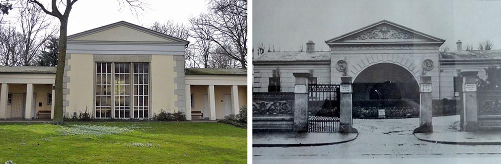 Die Kapelle heute und damals