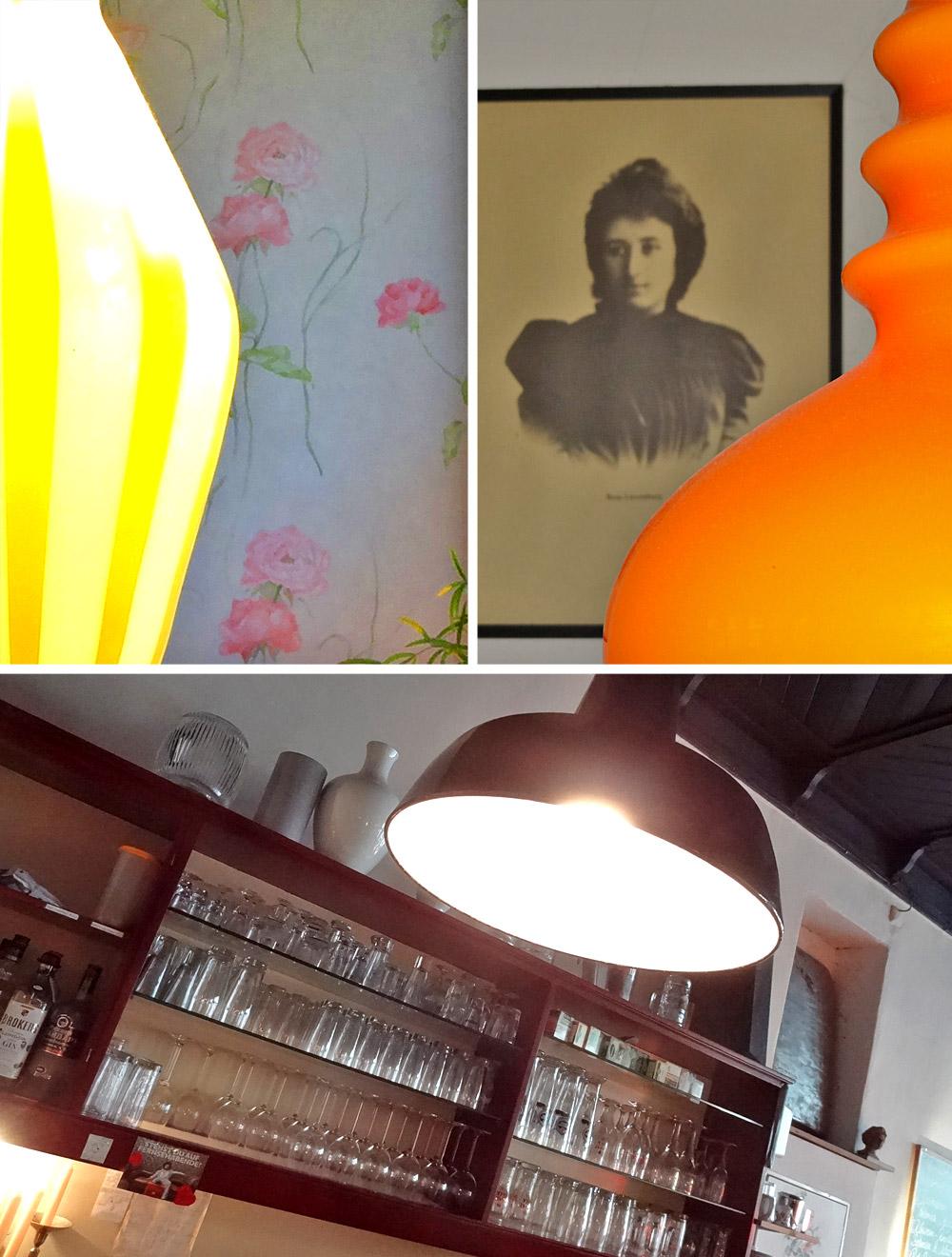 Das Kuß Rosa - ein bunter Lampenladen