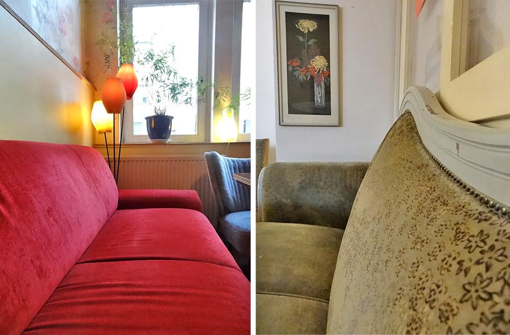 Sofa-Gemütlichkeit