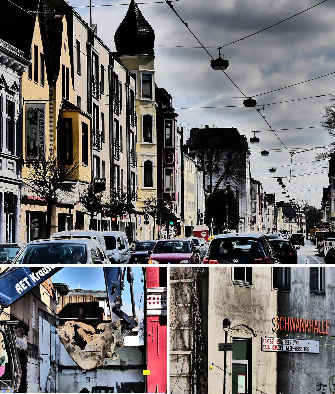 Buntentorsteinweg - Kultur, Läden, Entwicklung