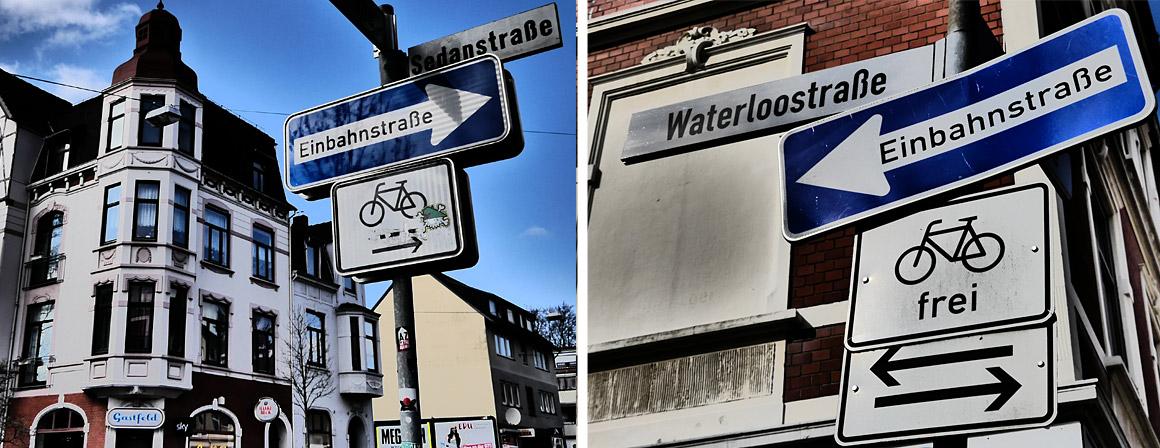 Straßennamen benannt nach Schlachten