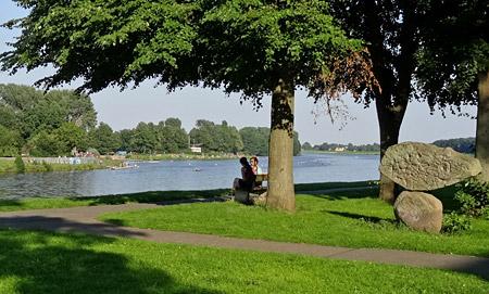 Der Werdersee – Naherholung ums Eck