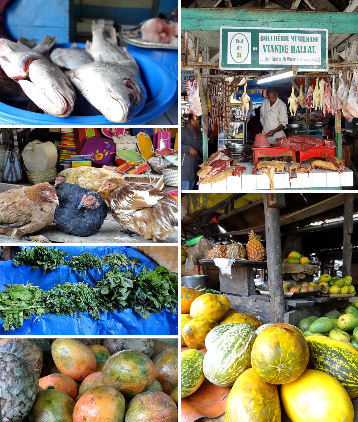 In der Markthalle von Antsirabe