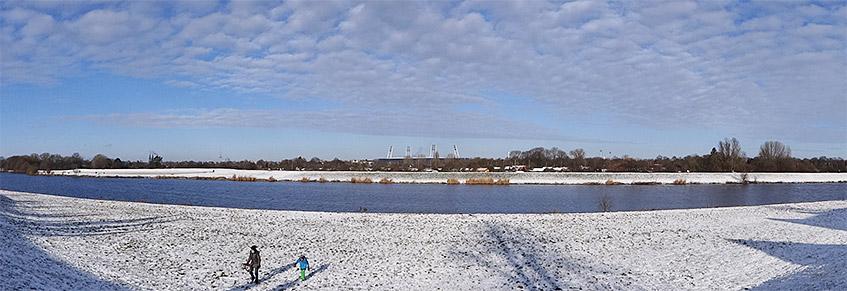 Blick auf das Weser-Stadion