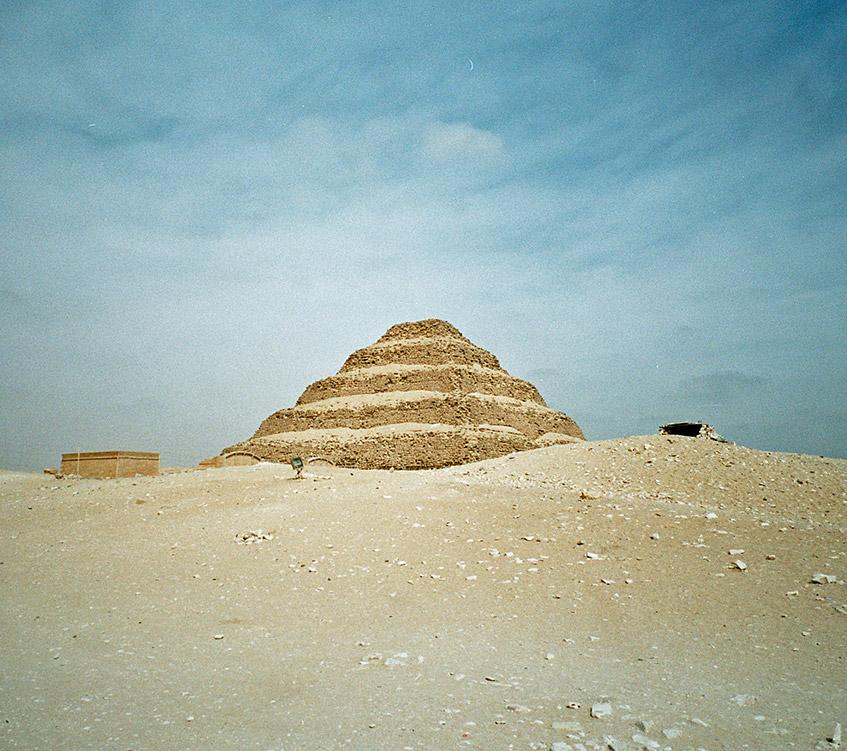 Sakkara - Stufen-Pyramide