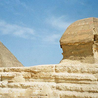 Gizeh - Pyramiden und Sphinx