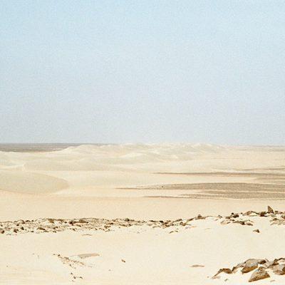 Wüste - Weg nach Bahariyya