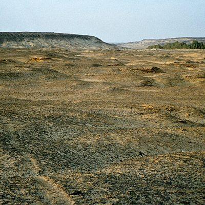 Schwarze Wüste - bei Bahariyya