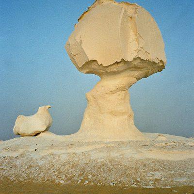 Weiße Wüste - Weg nach Farafra
