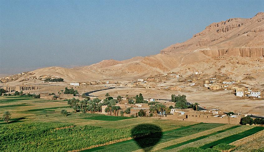 Luxor - Ballonfahrt