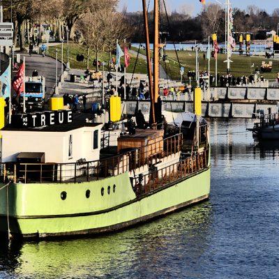 Betonschiff MS Treue
