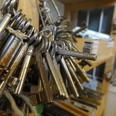 Was für ein Schlüsselbund ...
