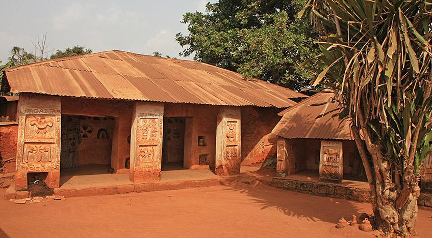 Voodoo-Tempel in Abomey