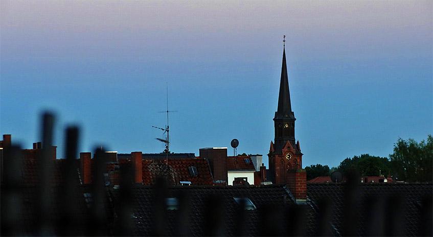 Abend auf der Dachterrasse