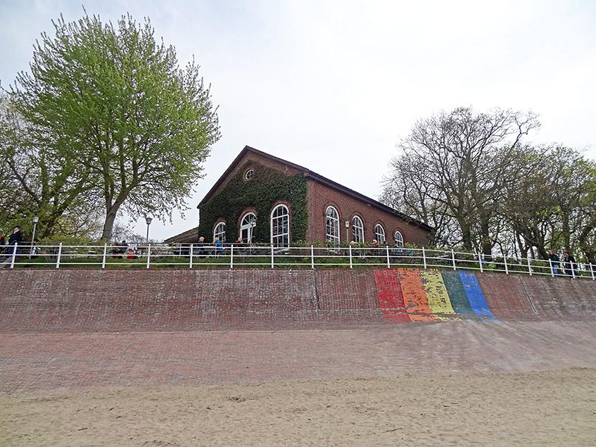 Das Kurhaus am Strand von Dangast