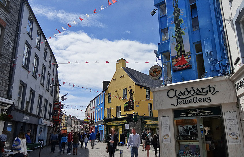 Shopping-Paradies in Galway