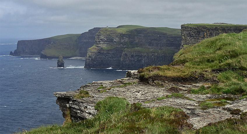Rauhe Schönheit - die Cliffs of Moher