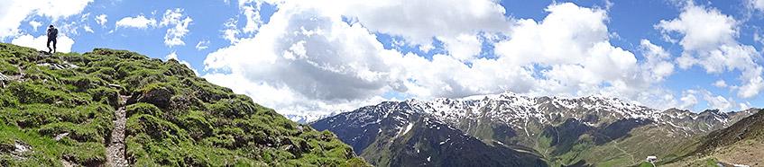 Die Alpen in Tirol