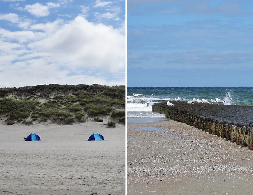Schutz vor Wind und Wellen