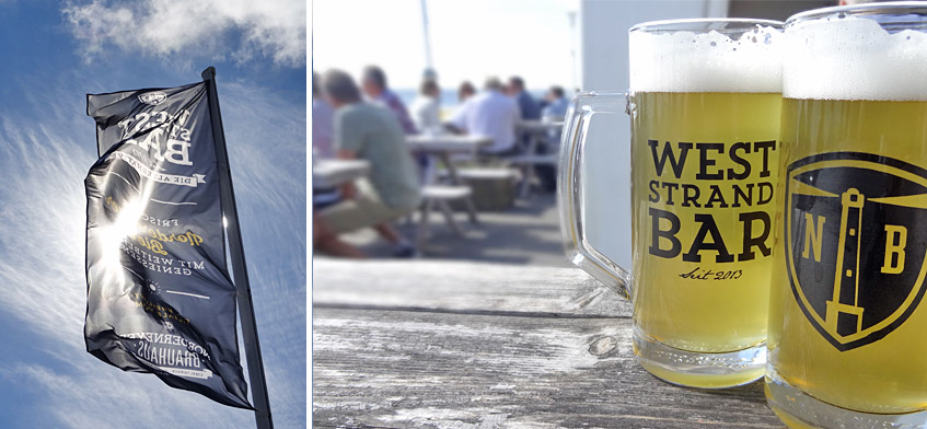 Weststrand-Bar vom Norderneyer Brauhaus