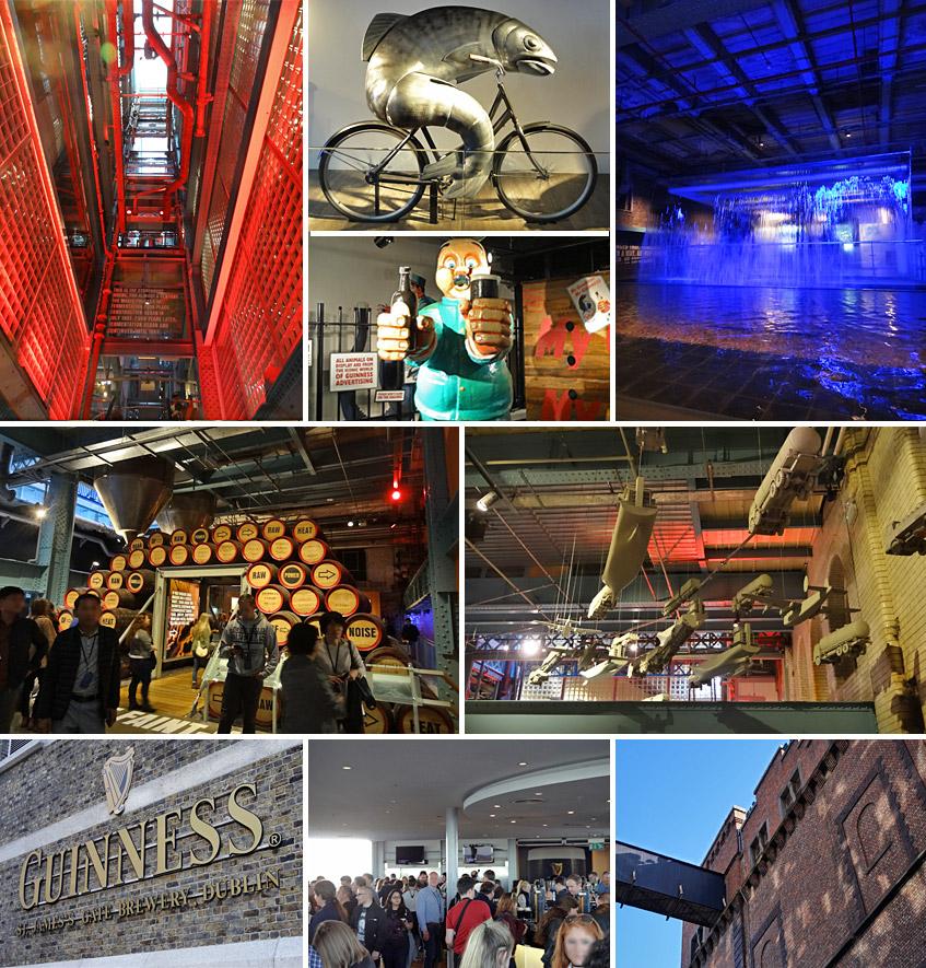 Besucherzentrum von Guinness