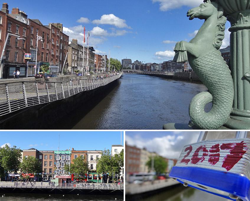 Lebensader Dublins - der Liffey